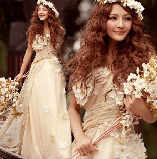 二次会ドレス パーティードレス ロングドレス 花嫁ドレス イブニングドレス