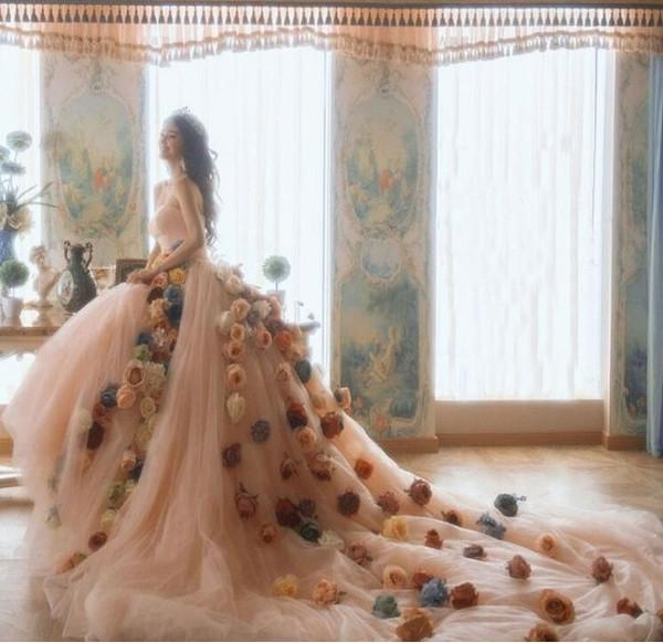 ウエディングドレス カラードレスパーティードレス ロングドレス イブニングドレス